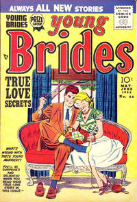 Cover Thumbnail for Young Brides (Prize, 1952 series) #v3#4 (22)