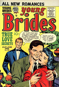 Cover Thumbnail for Young Brides (Prize, 1952 series) #v4#4 (28)