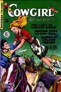 Cover Thumbnail for Cowgirl Romances (Fiction House, 1950 series) #2