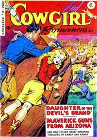 Cover Thumbnail for Cowgirl Romances (Fiction House, 1950 series) #3