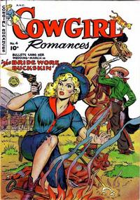Cover Thumbnail for Cowgirl Romances (Fiction House, 1950 series) #4