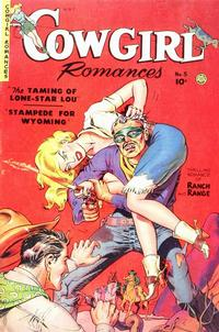 Cover Thumbnail for Cowgirl Romances (Fiction House, 1950 series) #5