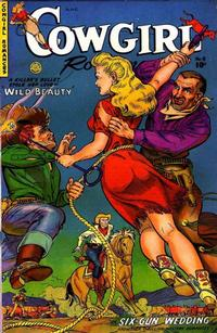 Cover Thumbnail for Cowgirl Romances (Fiction House, 1950 series) #8