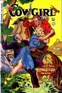 Cover Thumbnail for Cowgirl Romances (Fiction House, 1950 series) #9
