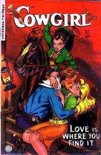 Cover Thumbnail for Cowgirl Romances (Fiction House, 1950 series) #11
