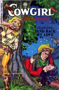 Cover Thumbnail for Cowgirl Romances (Fiction House, 1950 series) #12