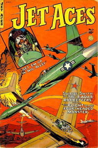 Cover Thumbnail for Jet Aces (Fiction House, 1952 series) #1