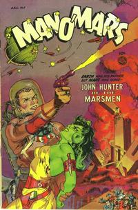 Cover Thumbnail for Man O' Mars (Fiction House, 1953 series) #1