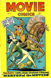 Cover Thumbnail for Movie Comics (Fiction House, 1946 series) #4