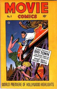 Cover Thumbnail for Movie Comics (Fiction House, 1946 series) #1