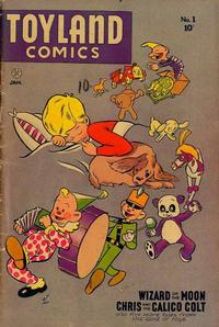 Cover Thumbnail for Toyland Comics (Fiction House, 1947 series) #1