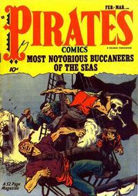 Cover Thumbnail for Pirates Comics (Hillman, 1950 series) #v1#1