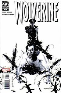 Cover Thumbnail for Wolverine (Marvel, 2003 series) #32 [b&w]
