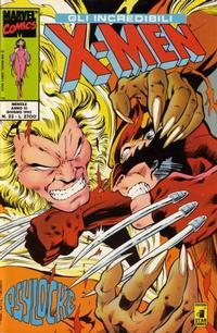 Cover Thumbnail for Gli Incredibili X-Men (Edizioni Star Comics, 1990 series) #23