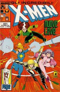 Cover Thumbnail for Gli Incredibili X-Men (Edizioni Star Comics, 1990 series) #26