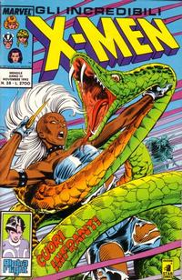 Cover Thumbnail for Gli Incredibili X-Men (Edizioni Star Comics, 1990 series) #28