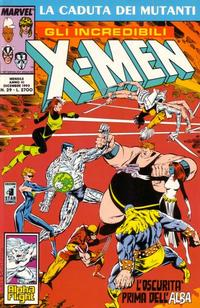 Cover Thumbnail for Gli Incredibili X-Men (Edizioni Star Comics, 1990 series) #29