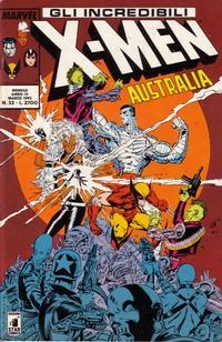 Cover Thumbnail for Gli Incredibili X-Men (Edizioni Star Comics, 1990 series) #32