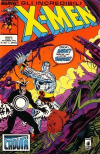 Cover Thumbnail for Gli Incredibili X-Men (Edizioni Star Comics, 1990 series) #40