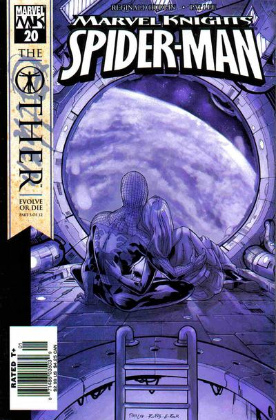 Cover for Marvel Knights Spider-Man (Marvel, 2004 series) #20 [Newsstand]