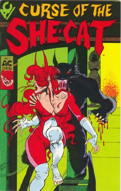 Cover for Curse of the She-Cat (AC, 1989 series) #1