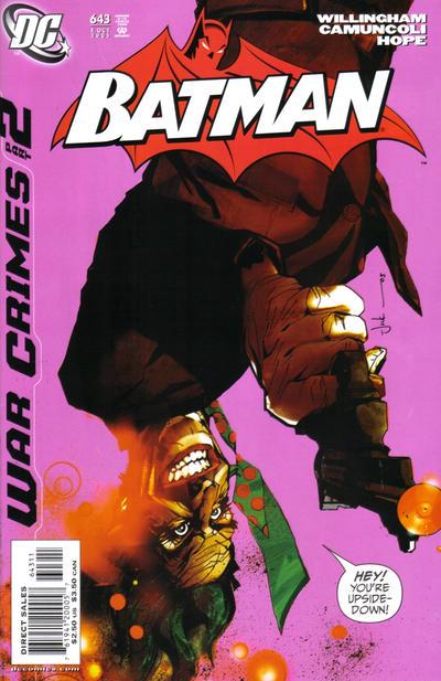 Cover for Batman (DC, 1940 series) #643