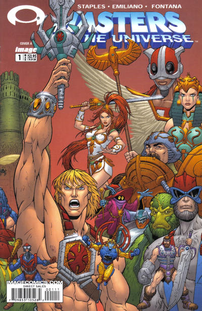 Cover for Masters of the Universe (Image, 2003 series) #1 [Cover A]