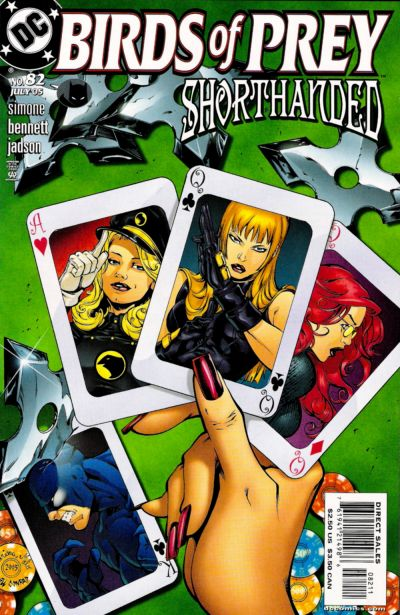 Cover for Birds of Prey (DC, 1999 series) #82
