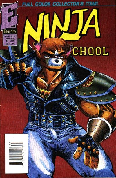 Cover for Ninja High School in Color (Malibu, 1992 series) #4