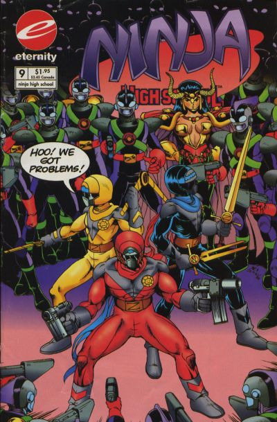 Cover for Ninja High School in Color (Malibu, 1992 series) #9