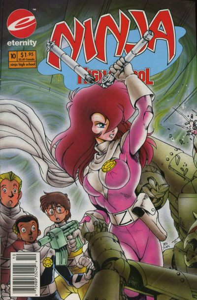 Cover for Ninja High School in Color (Malibu, 1992 series) #10