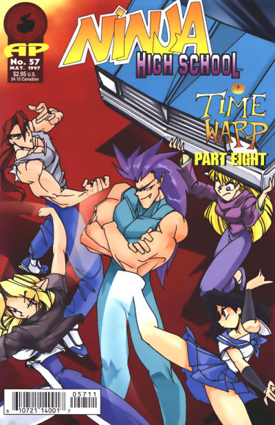Cover for Ninja High School (Antarctic Press, 1994 series) #57