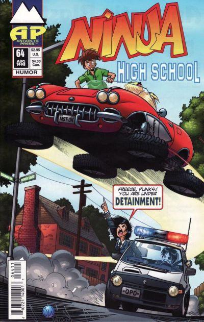 Cover for Ninja High School (Antarctic Press, 1994 series) #64