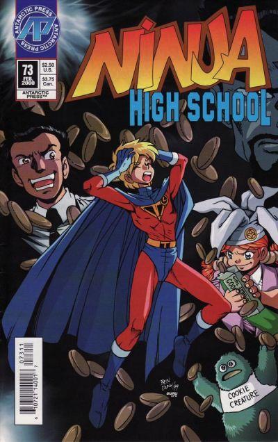 Cover for Ninja High School (Antarctic Press, 1994 series) #73