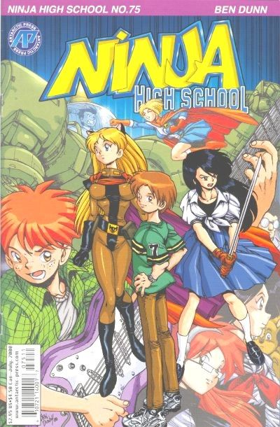 Cover for Ninja High School (Antarctic Press, 1994 series) #75