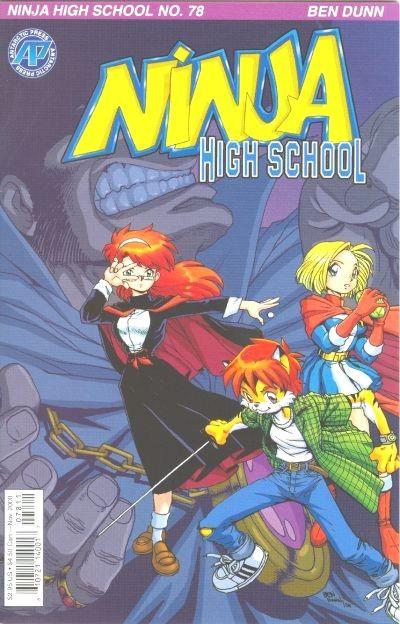 Cover for Ninja High School (Antarctic Press, 1994 series) #78