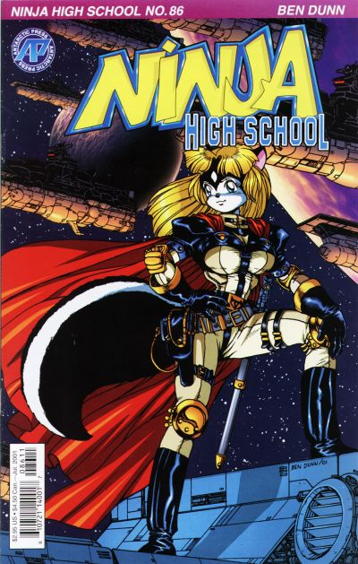 Cover for Ninja High School (Antarctic Press, 1994 series) #86