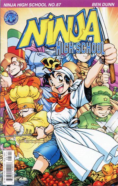 Cover for Ninja High School (Antarctic Press, 1994 series) #87