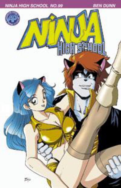 Cover for Ninja High School (Antarctic Press, 1994 series) #99