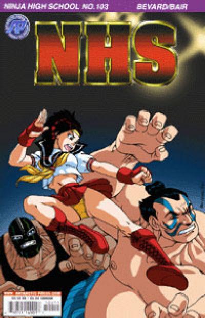 Cover for Ninja High School (Antarctic Press, 1994 series) #103