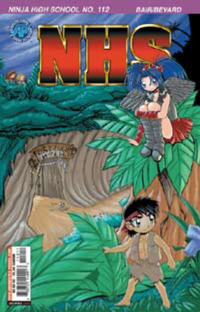 Cover for Ninja High School (Antarctic Press, 1994 series) #112