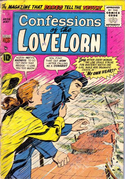 Cover for Lovelorn (American Comics Group, 1949 series) #59