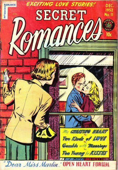 Cover for Secret Romances (Superior Publishers Limited, 1951 series) #11