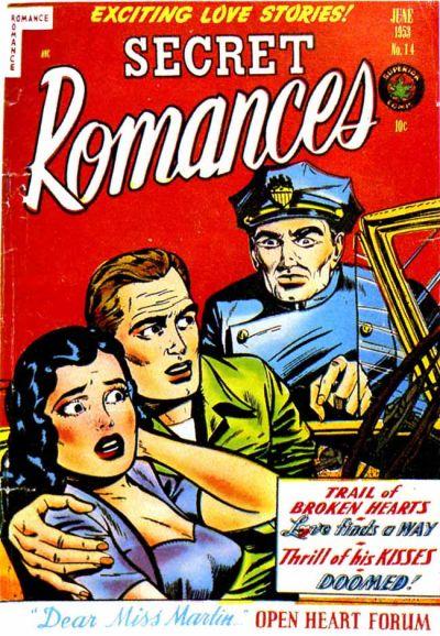 Cover for Secret Romances (Superior Publishers Limited, 1951 series) #14
