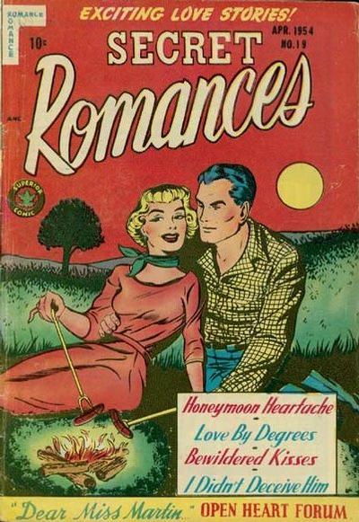 Cover for Secret Romances (Superior Publishers Limited, 1951 series) #19