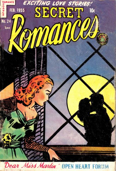 Cover for Secret Romances (Superior Publishers Limited, 1951 series) #24