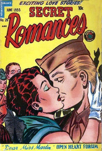 Cover for Secret Romances (Superior Publishers Limited, 1951 series) #26