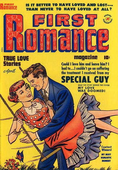 Cover for First Romance Magazine (Harvey, 1949 series) #5