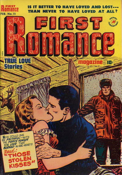 Cover for First Romance Magazine (Harvey, 1949 series) #11