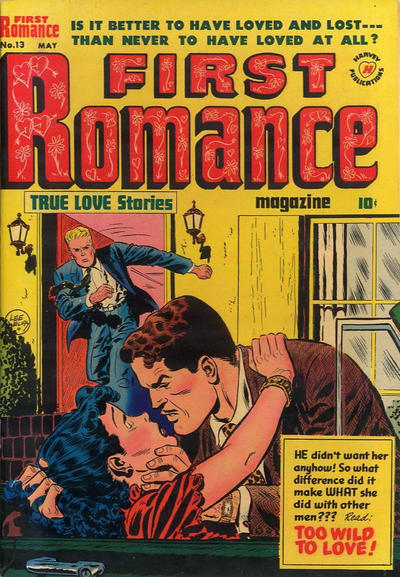 Cover for First Romance Magazine (Harvey, 1949 series) #13